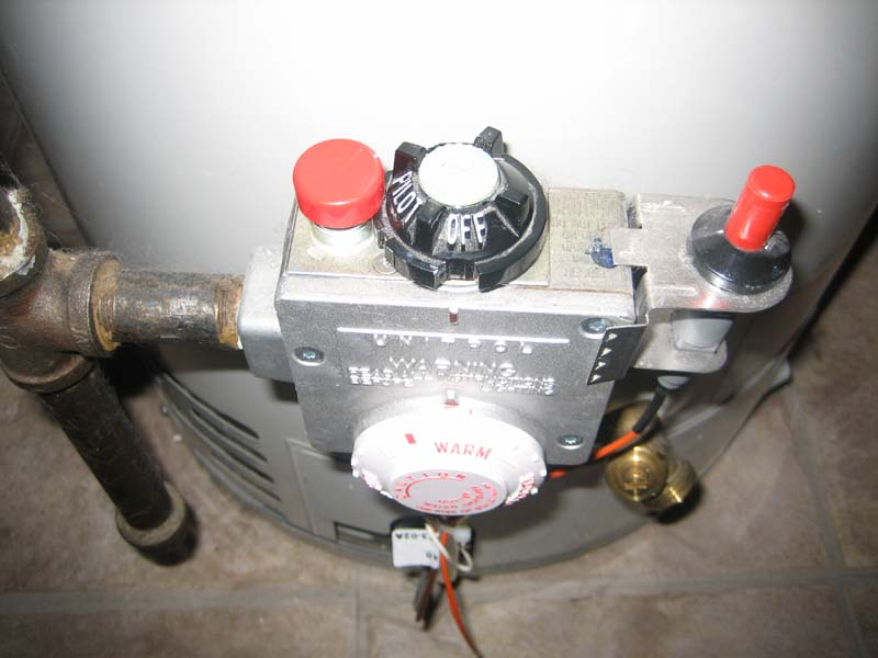 Plumbing and running natural gas propane gas lines for Water line heaters
